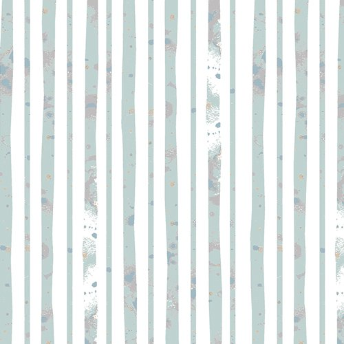 Blithe Glacier Path Aqua by Katarina Roccella for Art Gallery Fabrics BLI-75607