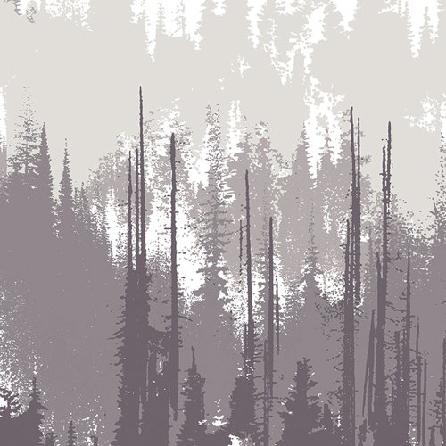Blithe Evergreens Dusk by Katarina Roccella for Art Gallery Fabrics BLI-85610