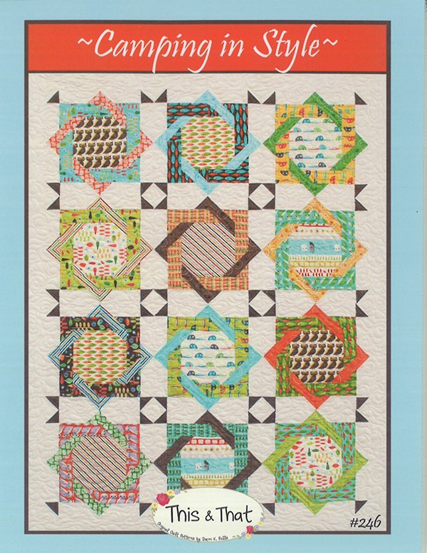 Camping In Style Quilt Pattern by This & That : camping quilt - Adamdwight.com