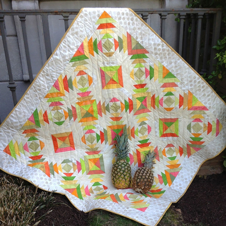 Pineapple Rings by Jean Ann Wright CLPJAW035