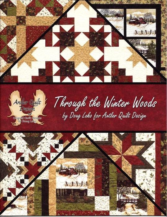 Through the Winter Woods Book by Doug Leko for Antler Quilt ... : antler quilt design - Adamdwight.com