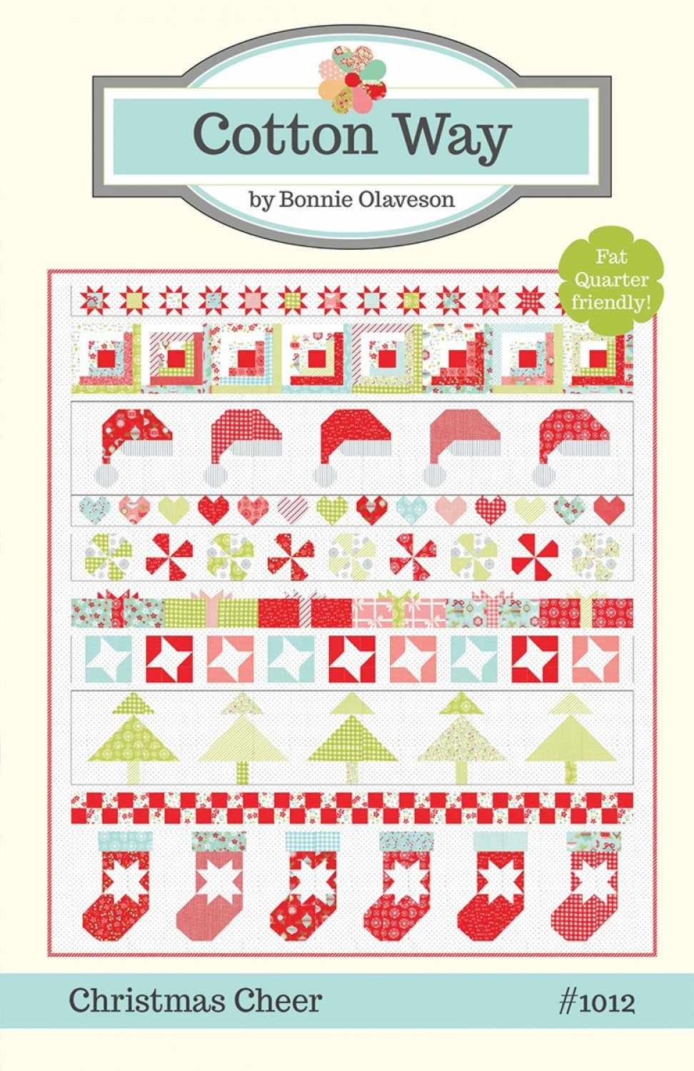 Christmas Cheer by Bonnie Olaveson for Cotton Way CW-1012