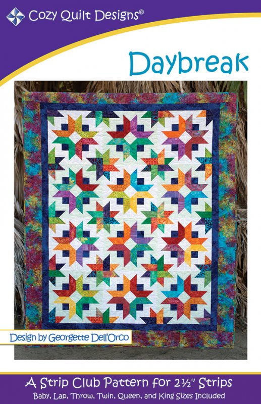 Daybreak Quilt Pattern by Cozy Quilt Designs CQD-01094