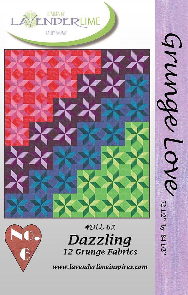 Grunge Love #6 Dazzling by Kathy Skomp for Lavender & Lime DLL62