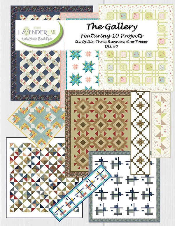 The Gallery by Kathy Skomp for Lavender Lime  DLL80