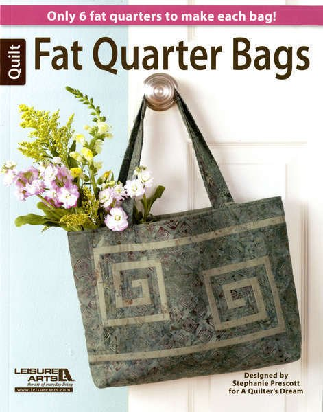 Fat Quarter Bags  Designed by Stephanie Prescott LA6029