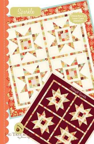 Sparkle Quilt Pattern By Fig Tree Coftq 955