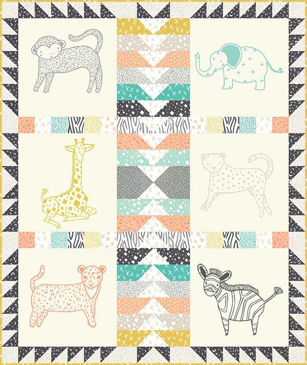 Savannah Quilt Kit by Gingiber for Moda KIT48220 - 752106366633 : savannah quilt - Adamdwight.com