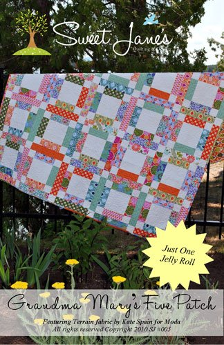 Grandma Mary Five Patch by Sweet Jane SJ005