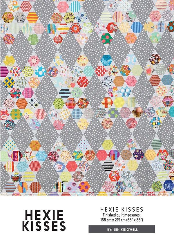 Hexie Kisses Jen Kingwell Designs  JKD 5156 Quilt Pattern