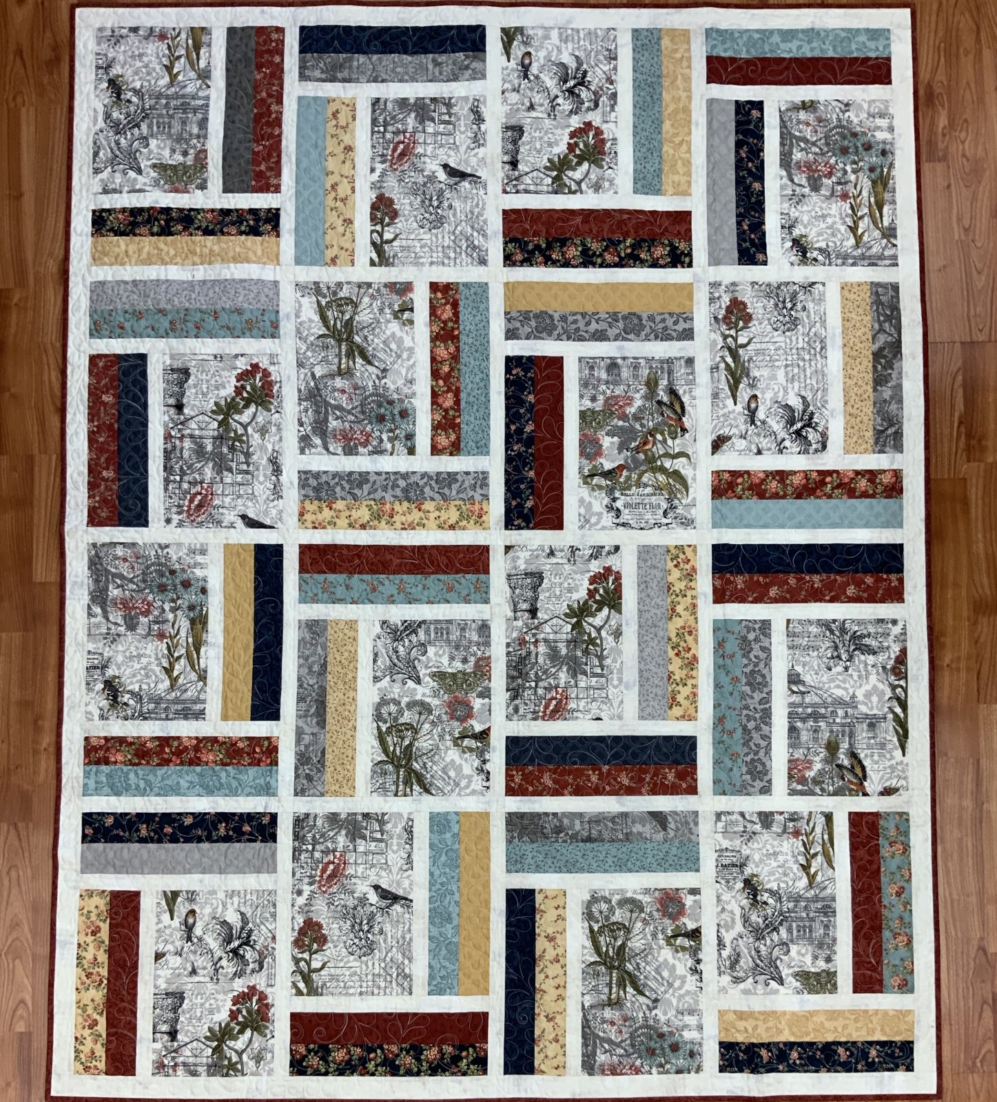 Reminiscence Quilt Kit by Doug Leko