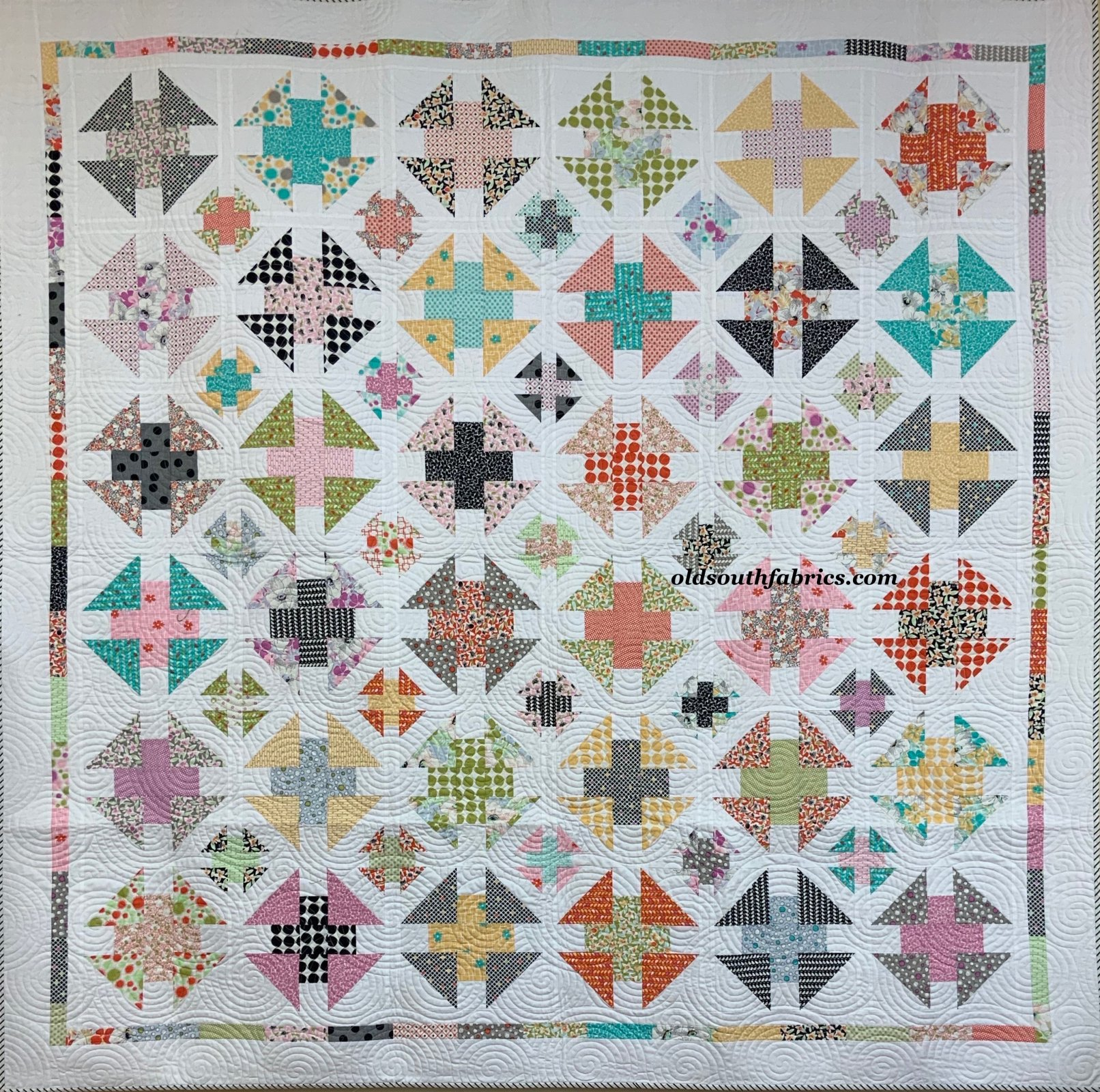 Fine and Sunny Quilt Kit by Jen Kingwell for Moda KIT18170