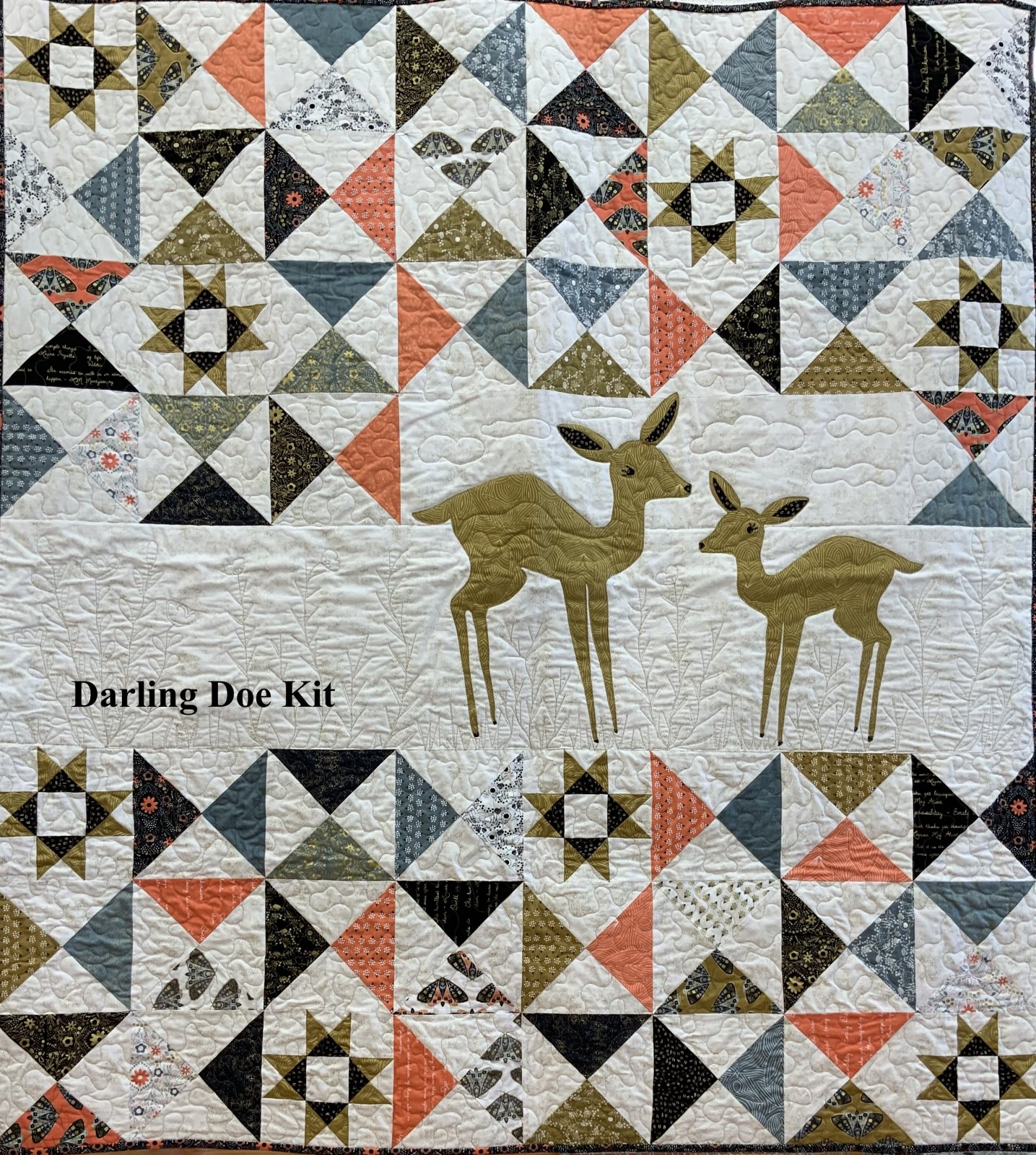 Darling Doe Quilt Kit by Old South Fabrics