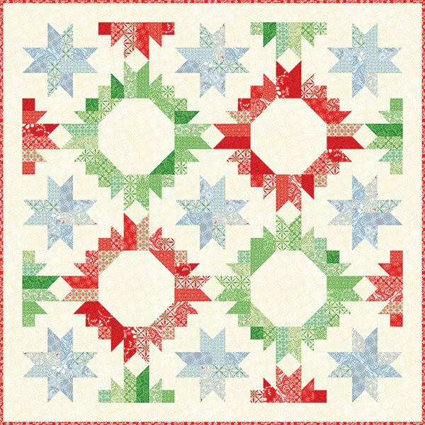 Solstice Pine Embellishment by Kate Spain for Moda #27186-14 Pine ... : stash addict quilts - Adamdwight.com