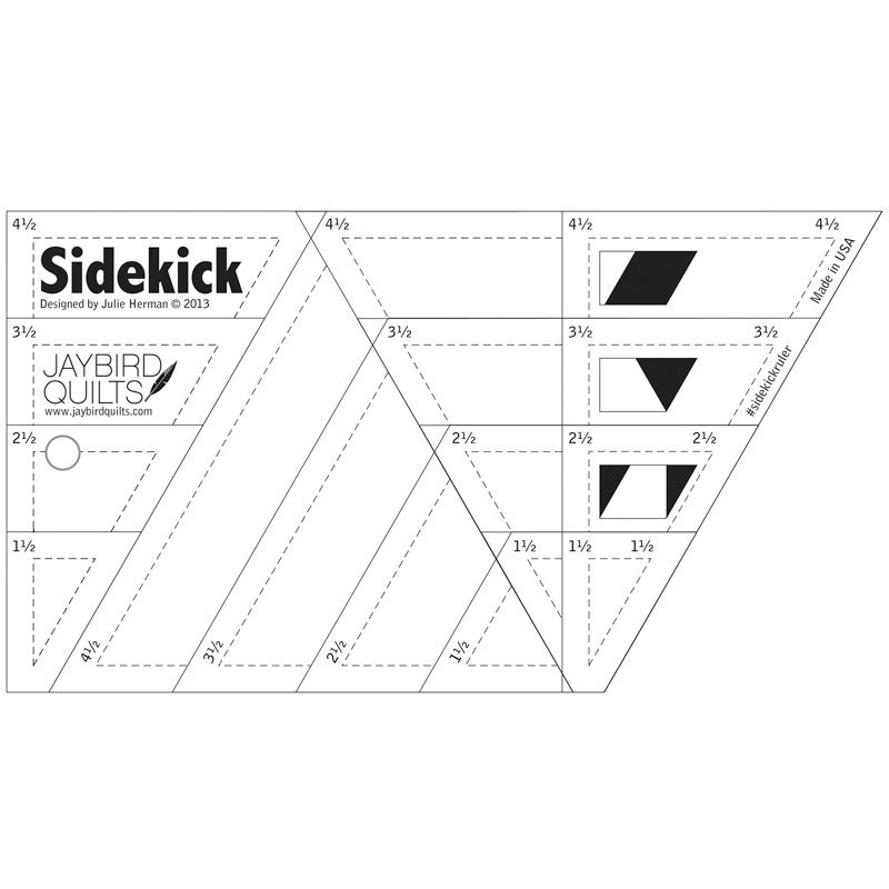 Sidekick Ruler by Jaybird Quilts #JBQ-202