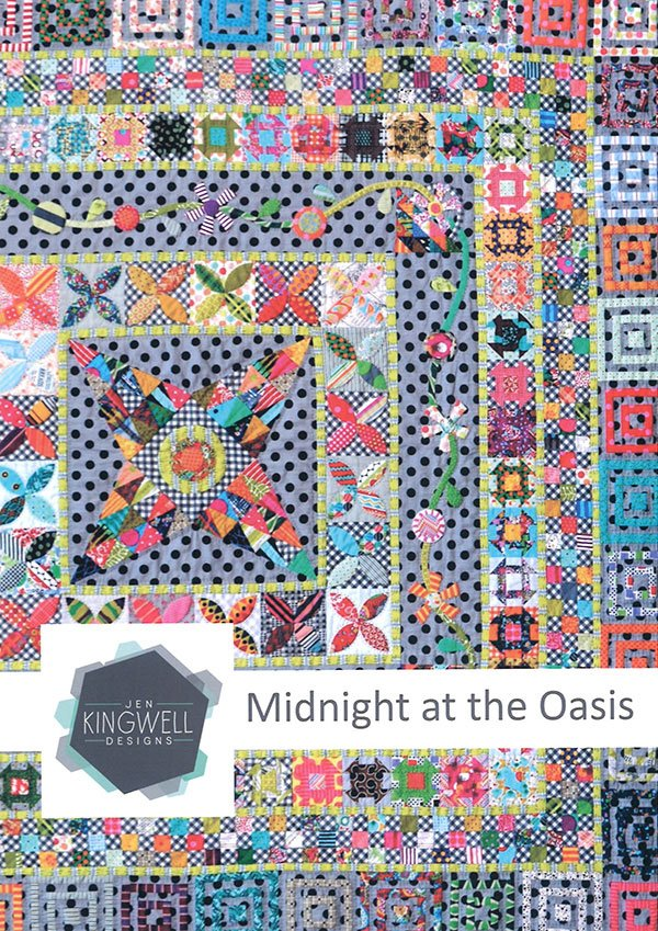 Midnight At The Oasis by Jen Kingwell Designs JKD5088