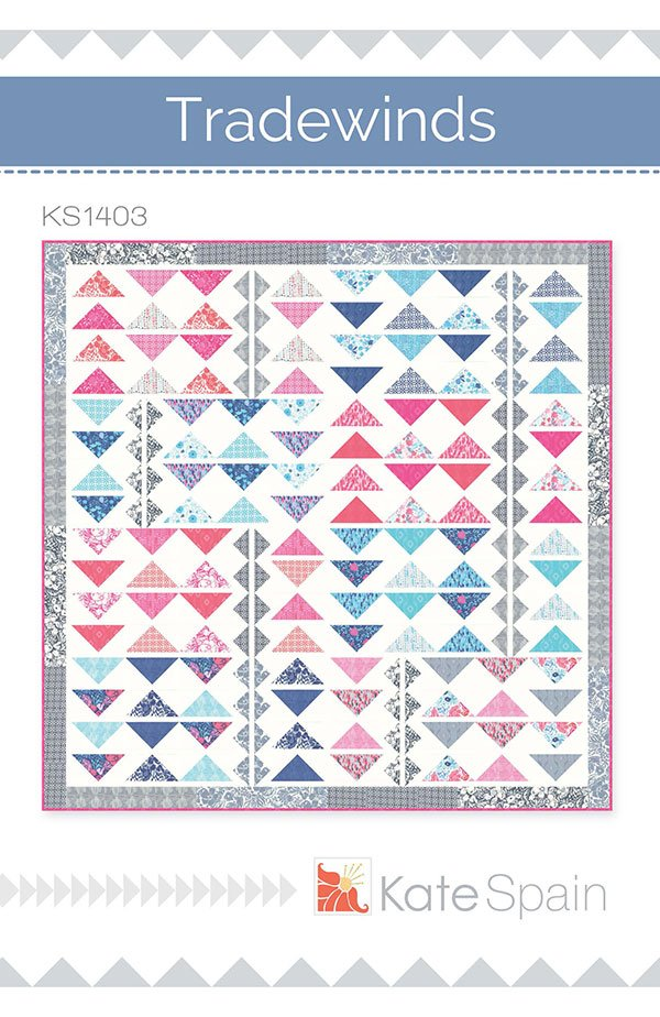 Tradewinds Quilt Patter by Kate Spain KS1403