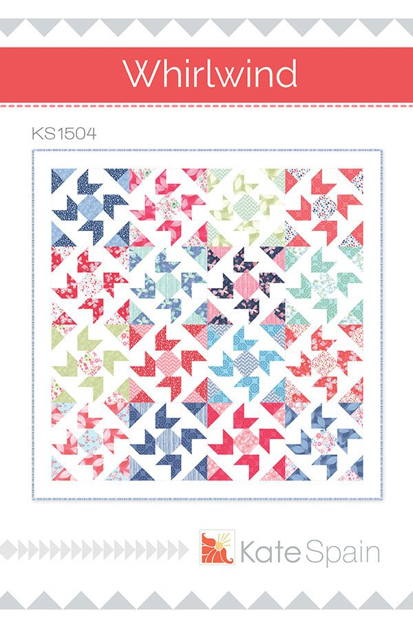 Whirlwind Quilt Pattern by Kate Spain KS1504