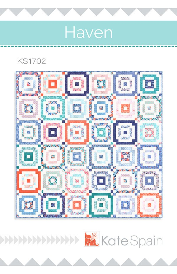 Haven Quilt Pattern by Kate Spain KS1702