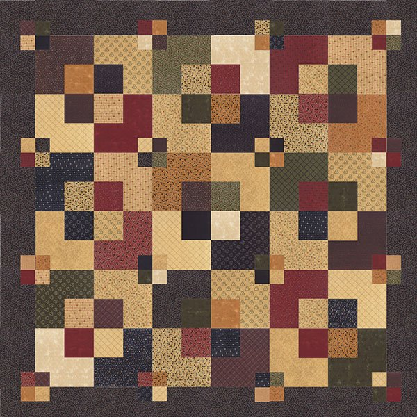 Huggable Quilts by Kansas Troubles Quilters KT15114