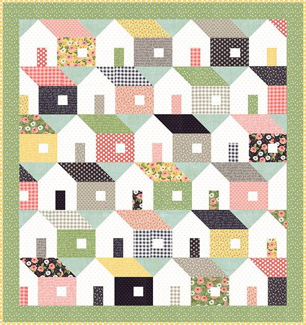 Home Again Quilt Pattern by Lella Boutique LB-158