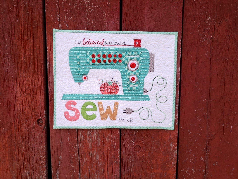 Sew She Did Laser Cut Kit by Lori Holt 895095