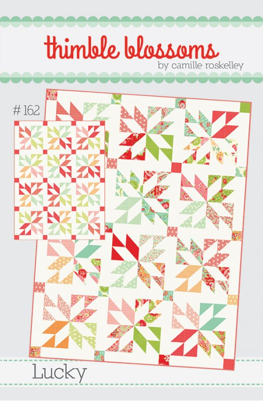 Lucky Quilt Pattern By Thimble Blossoms Charm Pack Or Layer Cake