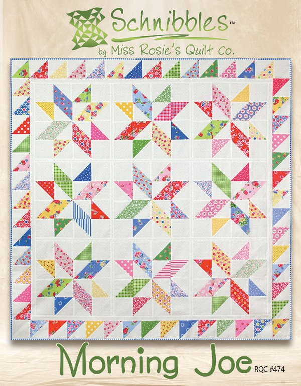 Morning Joe - Snibbles by Miss Rosie's Quilt Co. RQC#474