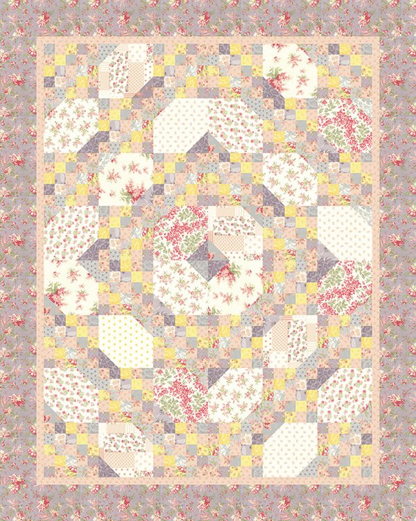 Garden Walk by Open Gate Quilts OGQ103