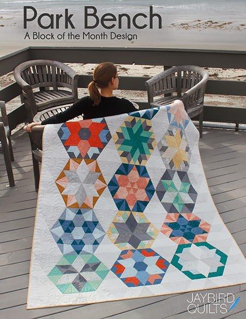 Park Bench BOM/9 by Julie Herman for Jaybird Quilts #JBQ-139