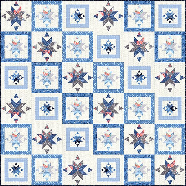 Cafe Tiles Quilt Pattern by Franny & Jane QJP M205