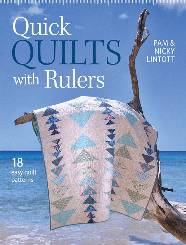 Quick Quilts with Rulers by Pam & Nicky Lintott #KR-T2265