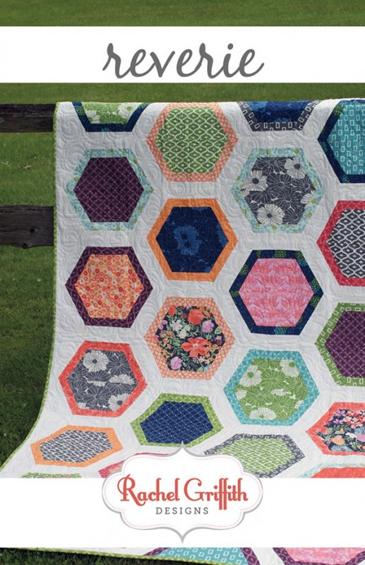 Reverie By Rachel Griffith Designs RGD60 Fat Quarter Friendly Custom Fat Quarter Quilt Patterns