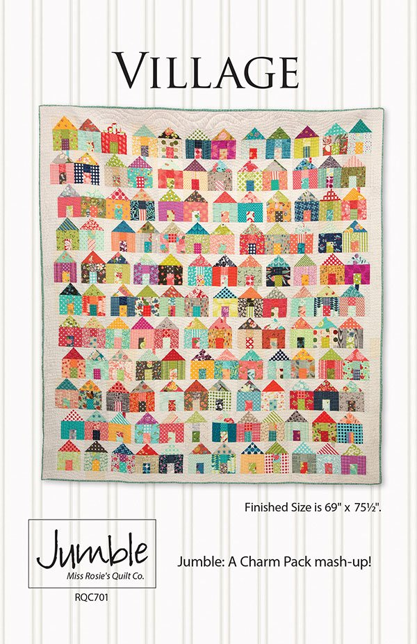 Village by Carrie Nelson for Miss Rosie's Quilt Co RQC-701