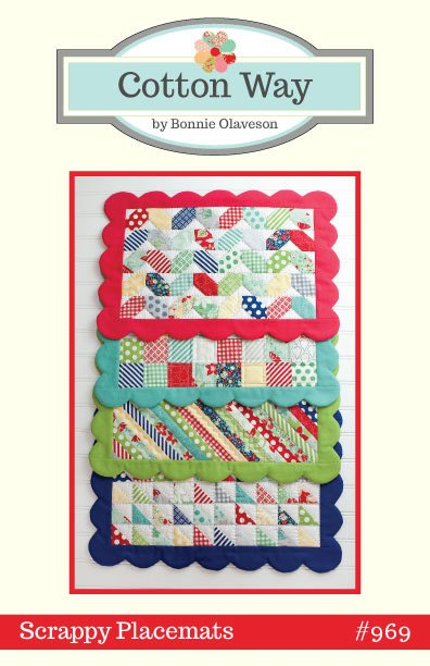 Scrappy Placemats by Bonnie Olaveson for Cotton Way #969