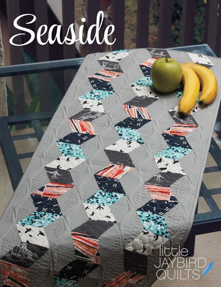 Seaside Table Runner by Julie Herman for Jaybird Quilts #JBQ-134