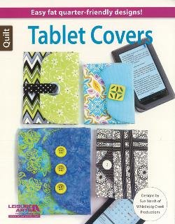 Tablet Covers Designs by Sue Marsh #LA6209  Easy Fat Quarter Designs