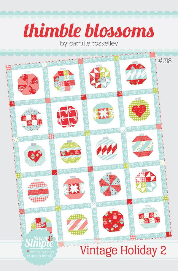 Vintage Holiday 2  by Thimble Blossoms TB218