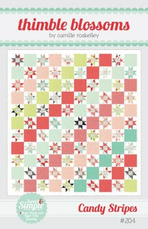 Candy Stripes by Thimble Blossoms TB204 Quilt Pattern