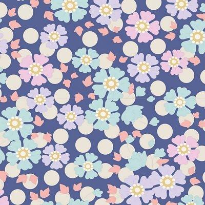 PlumGarden Windflower Blueberry by Tilda TIL100195