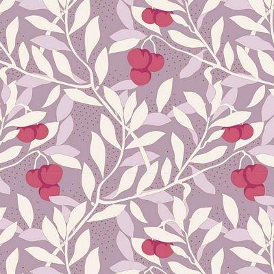 Maple Farm Cherrybush Mauve by Tilda TIL100262