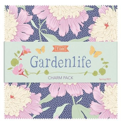 GardenLife Charm Pack by Tilda for Brewer Sewing TIL300102