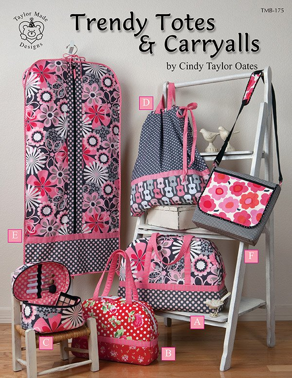 Trendy Totes & Carryalls by Cindy Taylor Oates # TMB-175