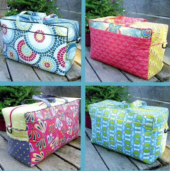 Weekender Bag by Donna Babylon #0310 Travel in Style. More Splash Than Cash