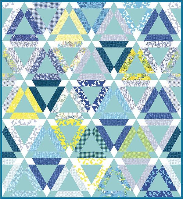 Delicate Beauty Quilt Pattern by Zen Chic #ZC-DBQP