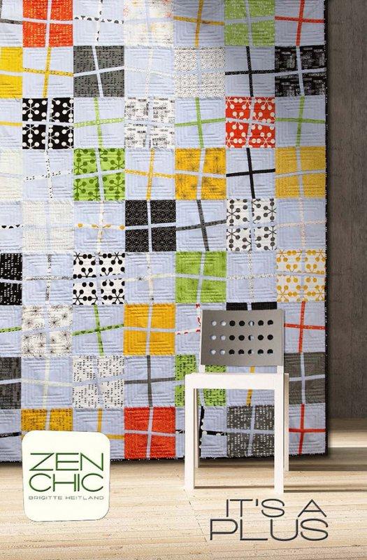 Its A Plus By Zen Chic Zc Iaqp Quilt Pattern