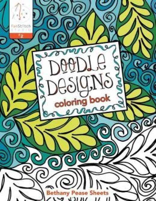 Funstitch Studio Doodle Designs Coloring Book By Bethany