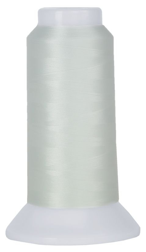 7002 - Lace White  - Cone - 3000 yds - 100 wt 2-Ply Polyester - MicroQuilter by Superior
