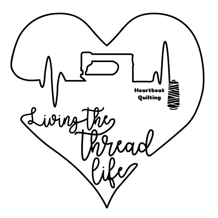 ***PREORDER*** Living the Thread Life T-Shirt from Heartbeat Quilting