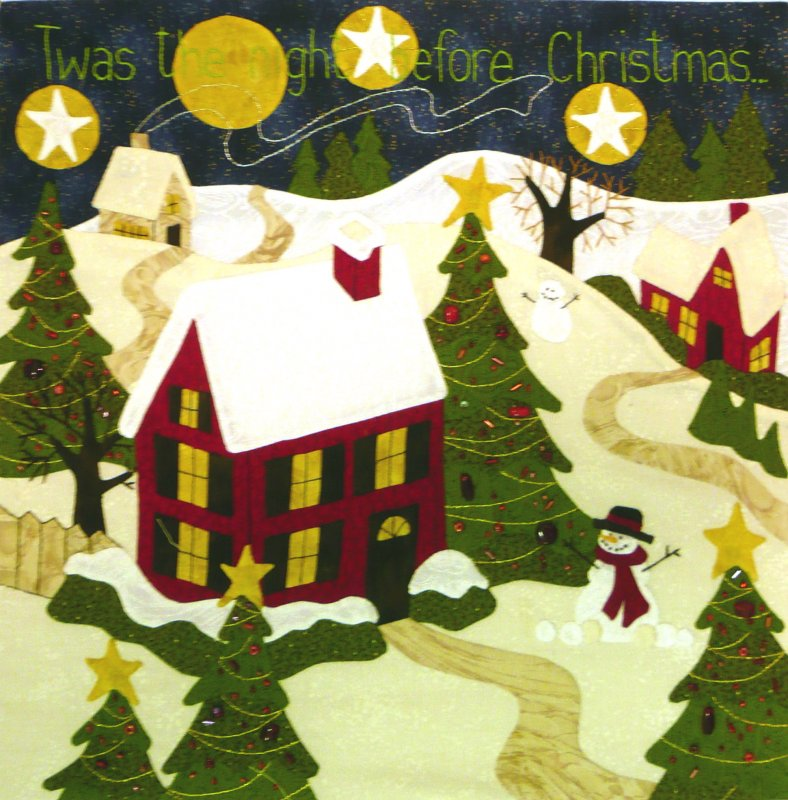 The Night Before Christmas - Month 1:  Twas the Night...